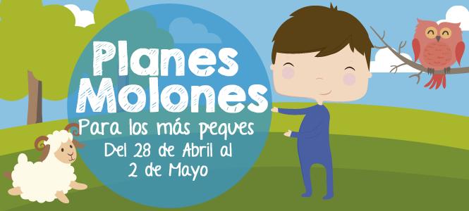 ¡Planes molones para los más peques del 28 de abril al 2 de mayo 2017!
