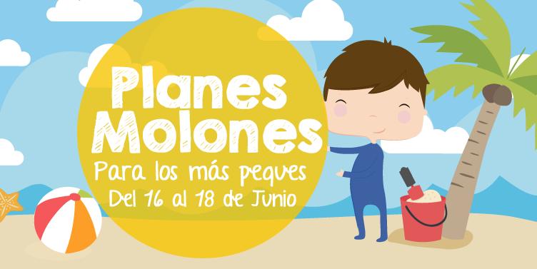 ¡Planes molones para los más peques del 16 al 18 de junio 2017!