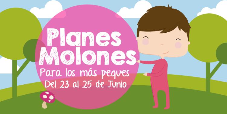 ¡Planes molones para los más peques del 23 al 25 de junio 2017!