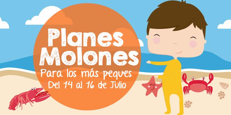 ¡Planes molones para los más peques del 14 al 16 de julio 2017!