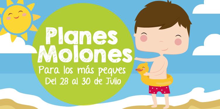 ¡Planes molones para los más peques del 28 al 30 de julio 2017!