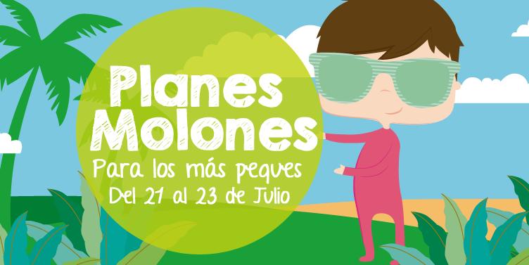 ¡Planes molones para los más peques del 21 al 23 de julio 2017!