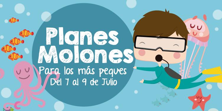 ¡Planes molones para los más peques del 7 al 9 de julio 2017!