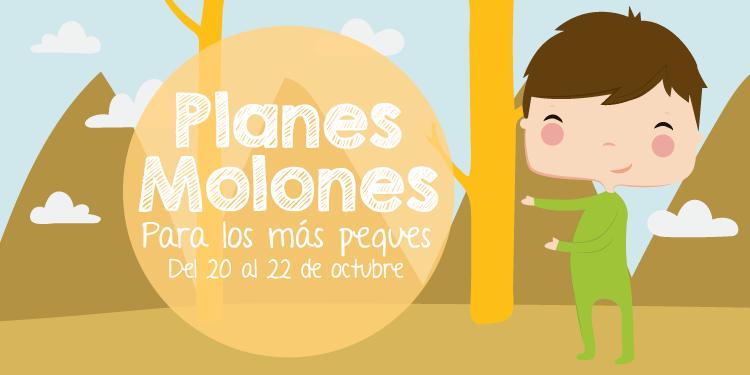 ¡Planes molones para los más peques del 20 al 22 de octubre 2017!