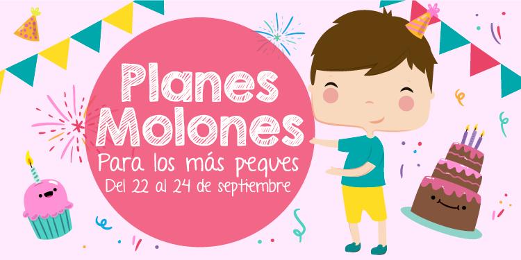 ¡Planes molones para los más peques del 22 al 24 de septiembre 2017!
