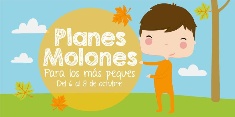 ¡Planes molones para los más peques del 6 al 8 de octubre 2017!