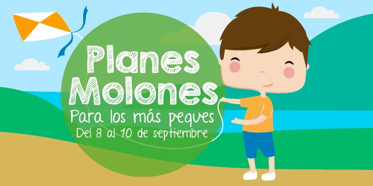 ¡Planes molones para los más peques del 8 al 10 de septiembre 2017!